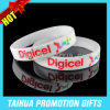 Ink Filled and Printing Silicone Bracelet Wristband (TH-08848)
