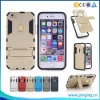 Heavy Duty Iron Man Defender Kickstand Mobile Phone Case for iPhone 6