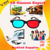 2015 New Plastic Durable Frame Eyewear Viddo Anaglyph Red Blue Cyan 3D Glasses for Normal TV &Computer &Display