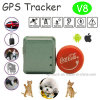 Newest Mini GPS Tracker with GPS+Lbs+Agps for Pets/Personal (V8)