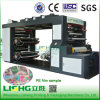 4 Colour High Speed Stack PE Film Flexo Printing Machine
