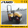 1 Ton Ride on Double Drum Hydraulic Bomag Vibratory Roller Compactor