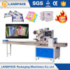 Hot Sale Automatic Sanitary Tableware and Napkin Flow Pack Packaging Machine