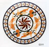 Flower Carving Marble Mosaic (MSK-004)