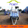 Galvanized Caged Utility Box Trailer for Sales From Toru