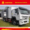 Multi-Function Sinotruk HOWO 6X4 20 Ton Mobile Maintenance Vehicle