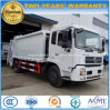 High Quality 170 HP 12 Tonne Compressed Refuse Wagon 12 T Compactor Garbage Truck