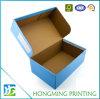 Custom Corrugated Cardboard Clamshell Packaging for Shoe