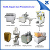 Semi-Autoamtic 20L Big Square Oil Paint Can Making Machine
