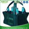 Six Bottom Non Woven Wine Bottle Bag with Stifener (MECO194)