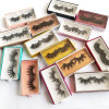 Wholesale Private Label Packing 25mm 3D 5D Mink Eyelashes