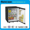 30-40L Hotel Glass Door Mini Beverage Freezer with Ce and Saso