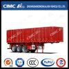 Cimc Huajun 3 Axle High Tensile Steel Van Semi Trailer for Coal Carrying