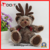 Reindeer Moose Plush Stuffed Toy Christmas Teddy Bear