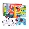 Jigsaw Puzzle Board Set Colorful Educational Toys for Children Learning Developing Toy