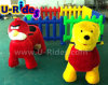 cute battery electric walking animal with fence on sale