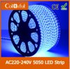 Hot SMD5050 100m/Roll LED Strip Light 220-240V
