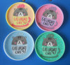 Bear and Heart Gifts for Lover Silicone Cup Coaster