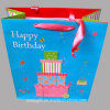 3D Happy Birthday Printing Paper Gift Bag