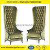 Decoration High Quality Wedding High Back King Queen Chair