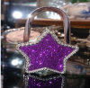 Factory Price Promotion Gift Glitter Starshaped Bag Hanger