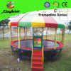 Outdoor Safety Net Trampoline with Sun Roof (LG066)