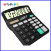 Office Supply 12 Digits Desktop Solar Power Electronic Finance Calculator