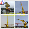 Shanghai Enjue Motor Hydraulic Knuckle and Telescoping Ship Crane