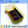 High Jump Rectangular Trampolines Customized Trampoline Park Equipment