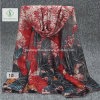 Maple Leaves Printed Canada Design Shawl Fashion Lady Scarf