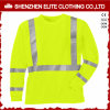 Customised Safety Wear Reflective Work Uniform T Shirt (ELTSPSI-25)