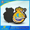 Promotion Custom Military 3D Logo Garment Label Fashion Woven Fabric Embroidery PVC Patch Emblem for Clothing (XF-PT06)