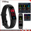 Fashion Sport Fitness Smart Breath Cool Night Watch /Wrist Band /Bracelet with Sleep Monitor, Pedometer, IP68 Waterproof and Relax Swimming.