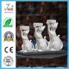 Cute Resin Craft Cat Sculpturetealight Candle Holder