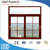 Fuxuan Aluminum Grills Design Sliding Window for Living Room