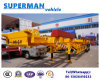 2 Axle Skeletal Port Container Semi Truck Trailer for Terminal Use