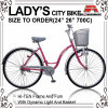 26 Inch Light Roadster City Lady Bicycle (AYS-2617S)