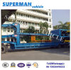 Special Use Hydraulic Lowdeck/ Lowbed/ Lowplatform Semi Trailer for Tower or Container