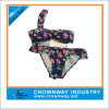 Lastest Fashion Sexy Floral Triangle Brazilian Bikini for Women
