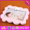 2016 Wholesale Wooden Kids Photo Frame, Cheap Wooden Kids Photo Frame, Lovely Wooden Kids Photo Frame W09A046