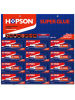 Hopson 12PCS/Card Aluminum Tube Super Glue (HCA-012N)