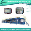 China Reliable Baby Pampers Diaper Machine with SGS (YNK400-HSV)