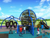Kaiqi Children′s Adventure Playground with Climbing and Slide (KQ50101A)