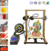 "DIY Desktop 3D Printer Kit Large Printing Size 11.8""X11.8""X15.8"" 1.75mm 0.4mm Nozzle With Single Z Axis"