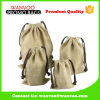 Promotional Nature Jute Drawstring Coffee Tea and Nuts Bags for Packing