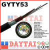 2-144 Core Outdoor Fiber Optical Aerial Direct Burial GYTY53 Cable
