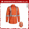 Long Sleeve Hi Vis Workwear Reflective Shirt (ELTHVSI-7)