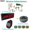 Long Range Calling Buzzer for Restaurant 4-Button Transmitter Wireless Call System