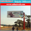 Single Pole Double Side Roadside Outdoor Advertising Billboard