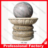 Stone Granite Rotating Rolling Sphere Fountain